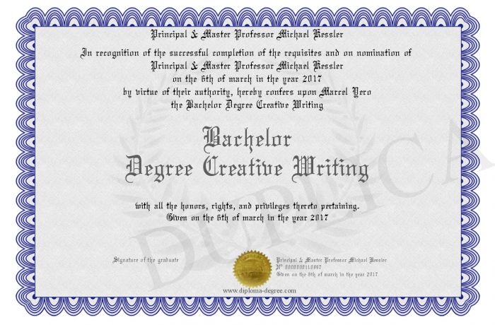 bachelor of arts creative writing uow