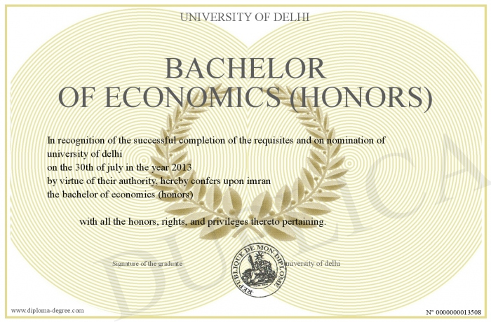 bachelor of economics This degree is designed for students who wish to become professionals in the areas of economics and finance it is aimed at students who would prefer to specialise.