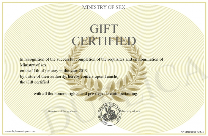 Gift-certified