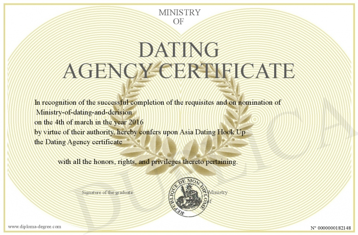 dating agency for graduates