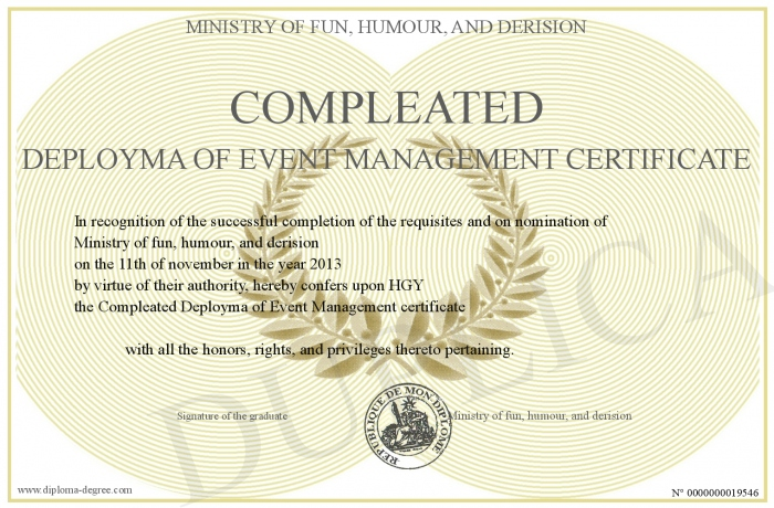 Compleated-Deployma-of-Event-Management-certificate
