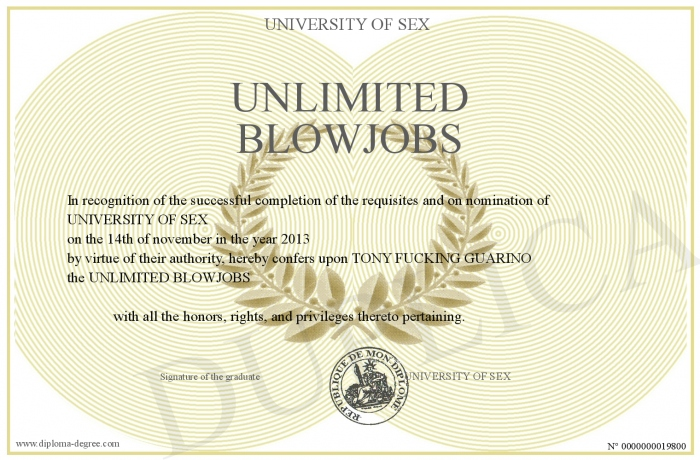 UNLIMITED BLOWJOBS