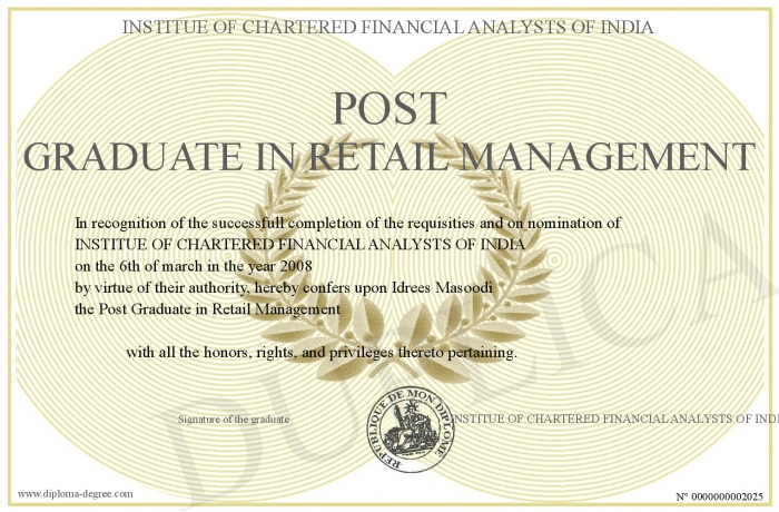 Phd thesis on retail management