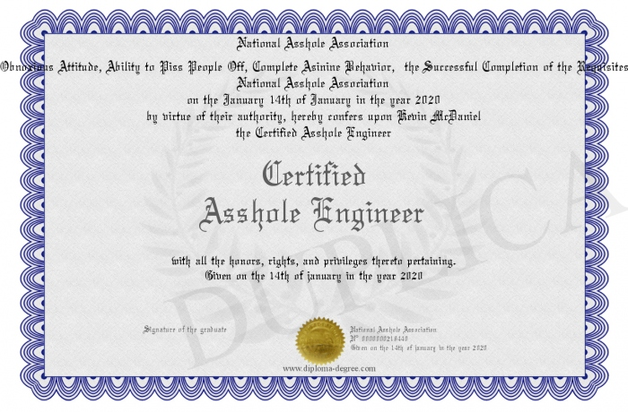 Certified-Asshole-Engineer