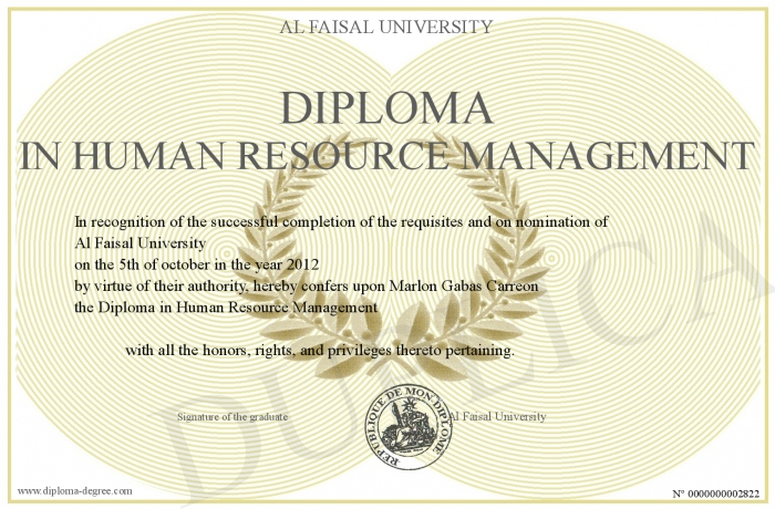 Human Resources hardest undergraduate degree
