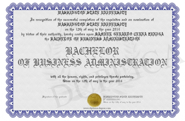 Business Administration Degree >> Bachelor Of Business Administration