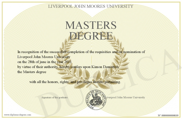 Can you get a master's in something other than what you received your undergraduate degree in?
