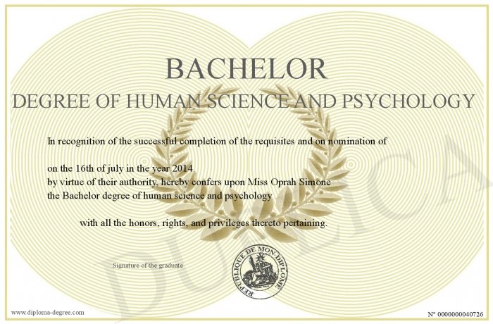 bachelor-degree-of-human-science-and-psychology, Human Body