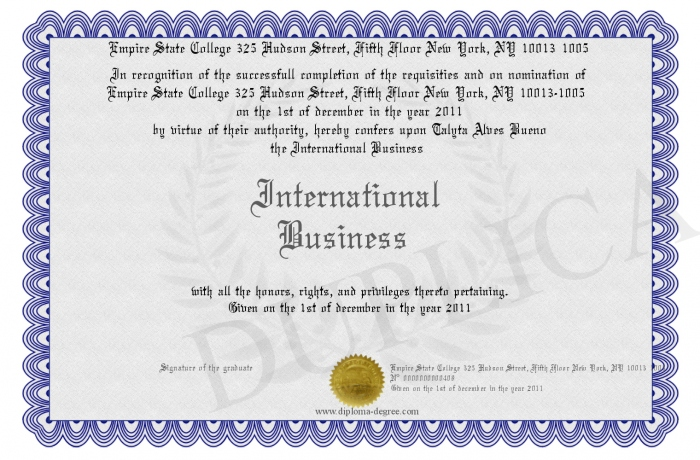 International Business what to major in