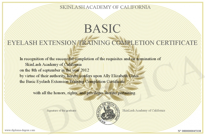 basic-eyelash-extension-training-completion-certificate