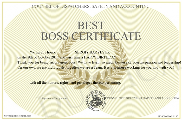 BEST-BOSS-CERTIFICATE