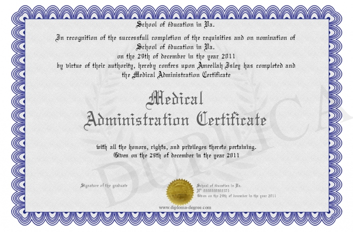 Medical-Administration-Certificate
