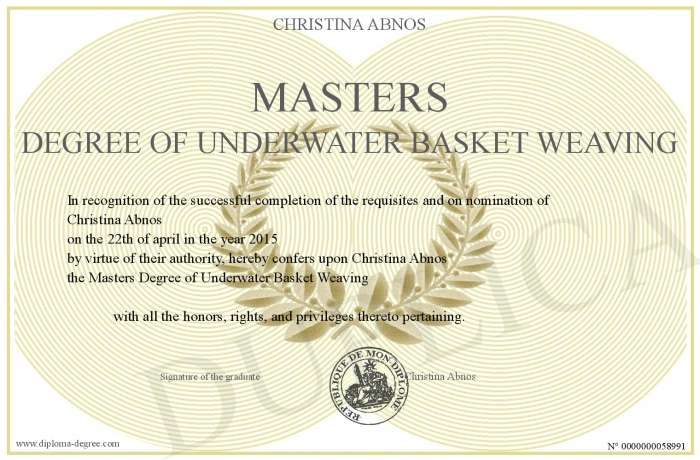 Masters-Degree-of-Underwater-Basket-Weaving