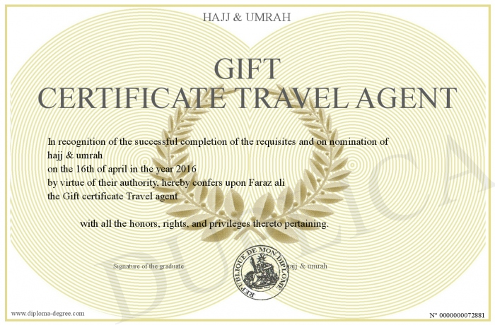 experience certificate format travel agency new work