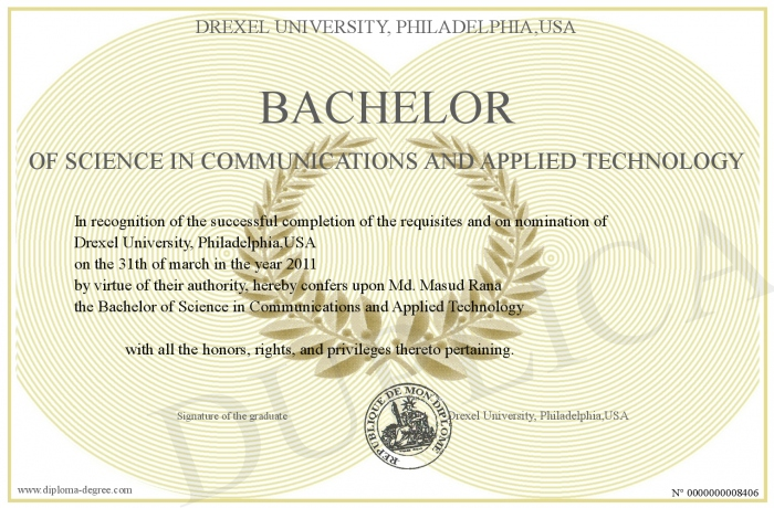 Bachelor Of Science In Communications And Applied Technology