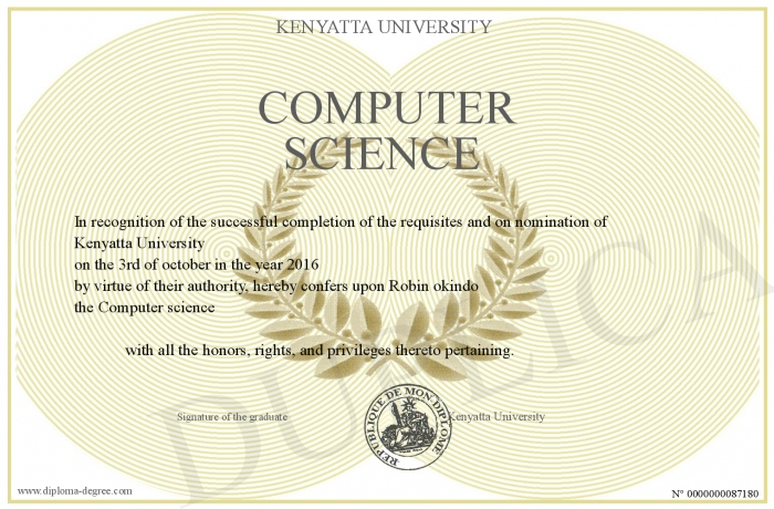 Pictures about computer science in diploma courses kenyatta