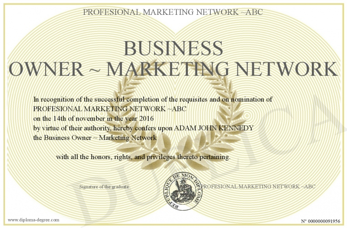 Business Owner Marketing Network